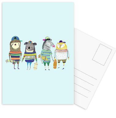 Dudes cartes postales
