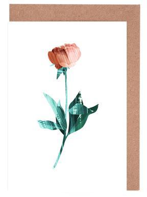 Flower Power -Grußkarten-Set