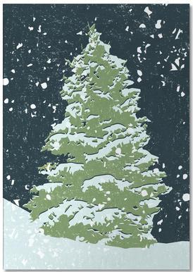 Tree By Night Notepad