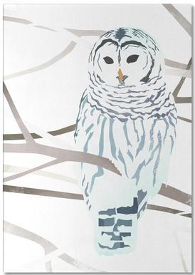 White Owl Notepad