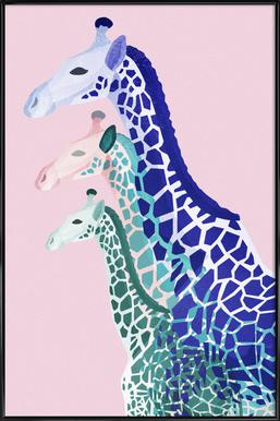 Giraffes Pink