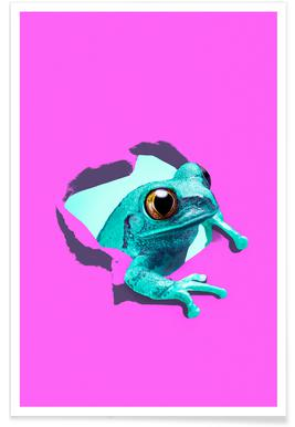 It's a frog Poster