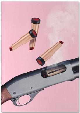 Lipstick Gun Notebook