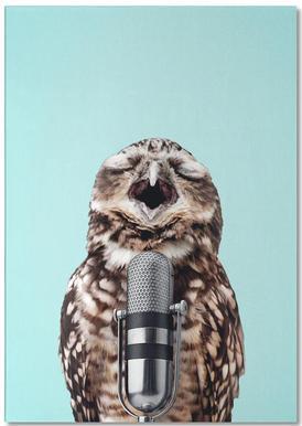 Owl Mic Notepad