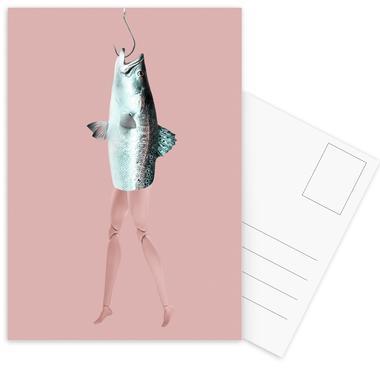 Reverse Maid Postcard Set