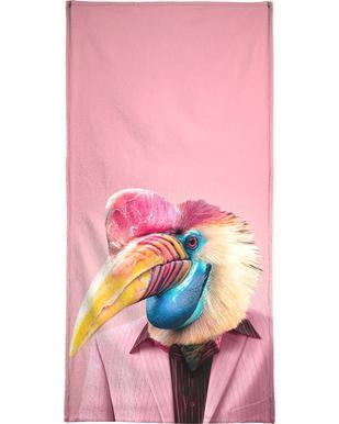 Schräger Vogel Beach Towel
