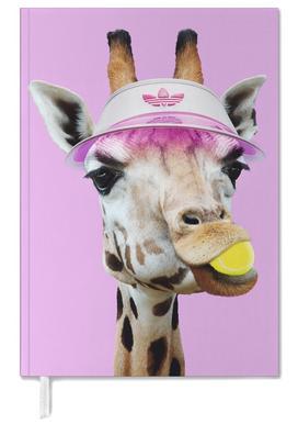 Tennis Giraffe Personal Planner
