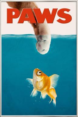 Paws Poster i aluminiumram
