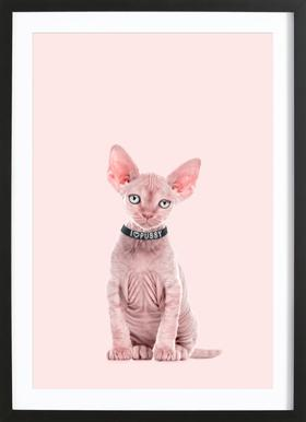 All Cats Are Beautiful Poster i träram