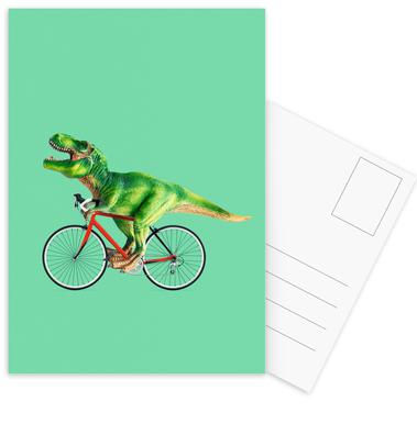 T-Rex Bike cartes postales
