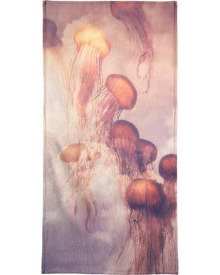 Jellyfish Sky Bath Towel