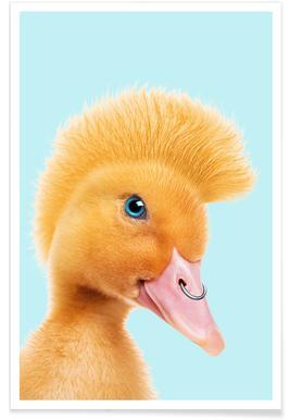 Rebel Duckling Poster