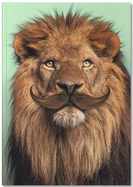 Bearded Lion Notebook