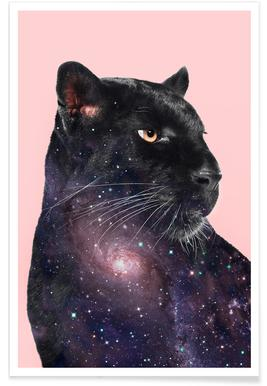 Galaxy Panther -Poster
