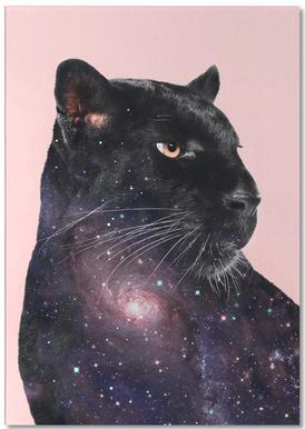 Galaxy Panther Notesblok