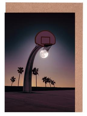 Basketmoon Greeting Card Set