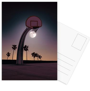 Basketmoon Postcard Set