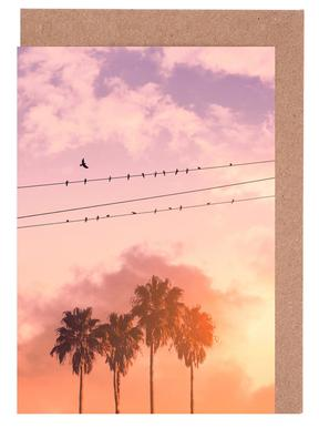 Birds on a Wire Greeting Card Set