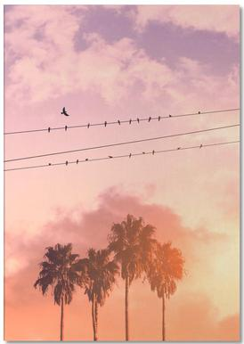 Birds on a Wire Notepad