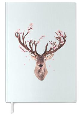 Cherry Blossom Deer Personal Planner