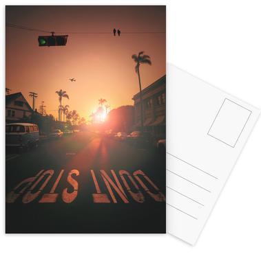 Don't Stop Postcard Set