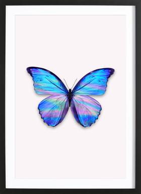 Holographic Butterfly Framed Print