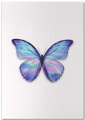 Holographic Butterfly Notepad