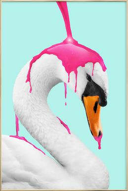 How to Make a Flamingo Poster in Aluminium Frame