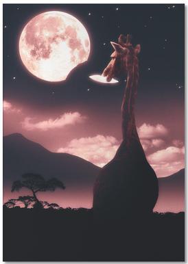 Tasty Moon Notepad