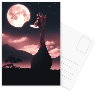 Tasty Moon Postcard Set