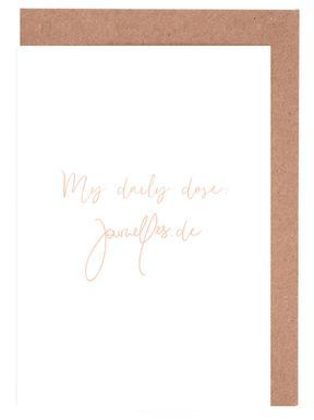My Daily Dose Gratulationskort i satt
