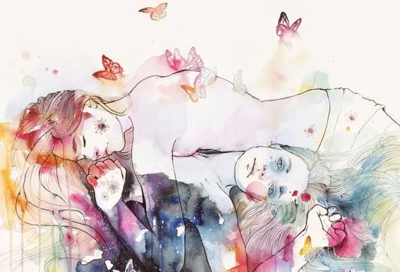 Dreamy Insomnia Acrylic Print