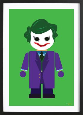 Joker Toy ingelijste print