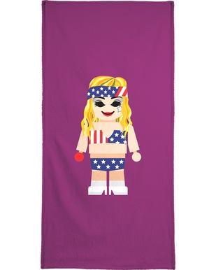 Lady Gaga Toy Beach Towel