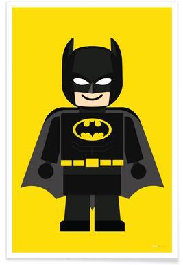 Batman Toy Poster