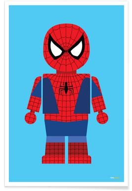 Spiderman Toy -Poster