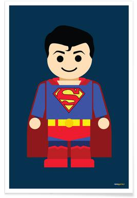 Superman Toy Poster