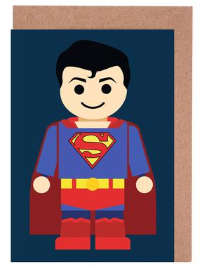 Superman Toy Greeting Card Set