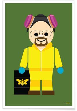 Walter White Heisenberg Toy -Poster