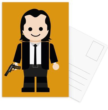 Pulp Fiction Toy 01 Postcard Set