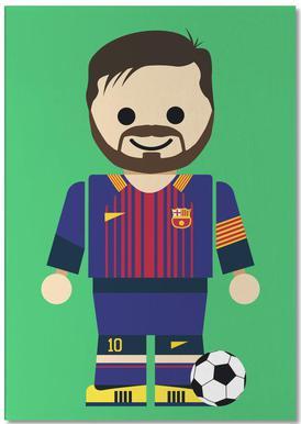 Messi Toy -Notizblock