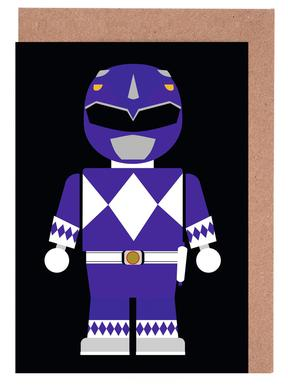 Power Ranger Toy Blue