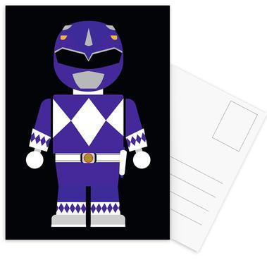 Power Ranger Toy Blue