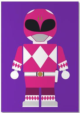 Power Ranger Toy Pink