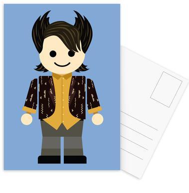 Chandler Bing Toy Postcard Set