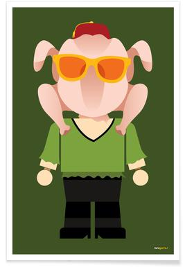 Monica Geller Toy poster