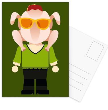 Monica Geller Toy ansichtkaartenset