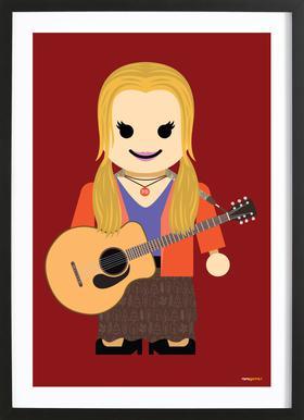 Phoebe Buffay Toy Framed Print