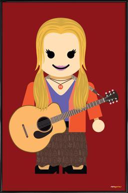 Phoebe Buffay Toy ingelijste poster