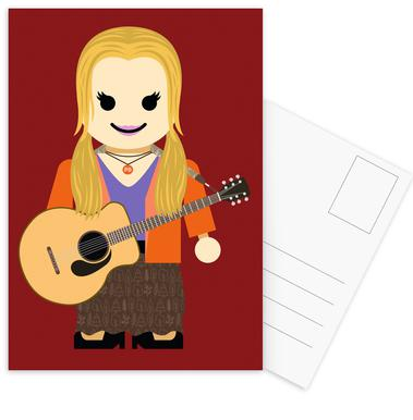 Phoebe Buffay Toy Postcard Set